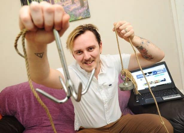 magnet fishing manchester evening news